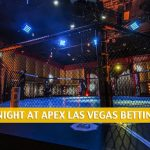 UFC Fight Night at APEX Las Vegas Predictions, Picks, Odds, and Betting Preview | June 13 2020