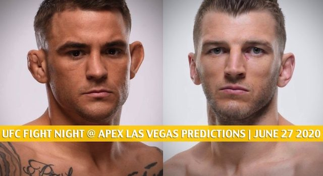 UFC Fight Night at Apex Las Vegas Predictions, Picks, Odds and Betting Preview | June 27 2020