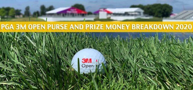 2020 PGA 3M Open Purse and Prize Money Breakdown