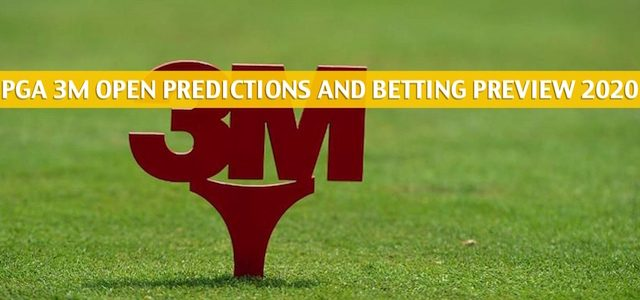 PGA 3M Open Predictions, Picks, Odds, and Betting Preview | July 23-26 2020