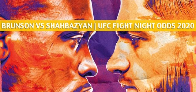 Derek Brunson vs Edmen Shahbazyan Predictions, Picks, Odds, and Betting Preview | UFC Fight Night Aug 1 2020