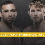 Fabricio Werdum vs Alexander Gustafsson Predictions, Picks, Odds and Betting Preview | UFC Fight Night - July 25 2020