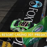 Foxwoods Resort Casino 301 Predictions, Picks, Odds, and Betting Preview | Aug 2 2020