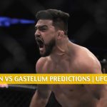 Jack Hermansson vs Kelvin Gastelum Predictions, Picks, Odds and Betting Preview | UFC Fight Night - July 18 2020