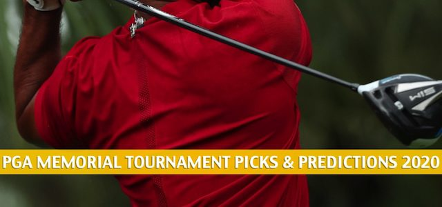 PGA Memorial Tournament Predictions, Picks, Odds, and Betting Preview | July 16-19 2020