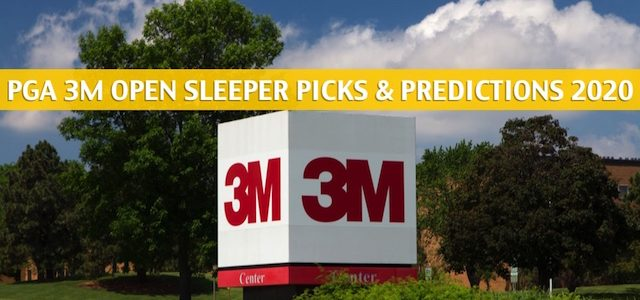 PGA 3M Open Sleepers and Sleeper Picks and Predictions 2020