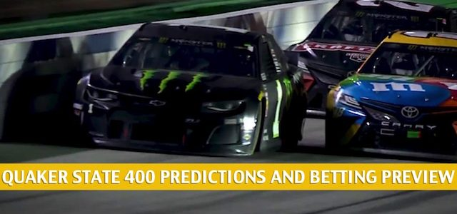 Quaker State Presented by Walmart 400 Predictions, Picks, Odds, and Betting Preview | July 12 2020