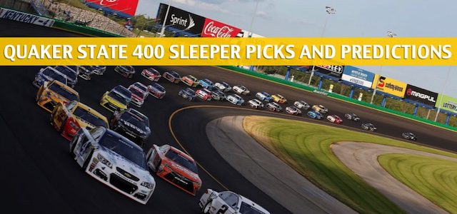Quaker State Presented by Walmart 400 Sleepers and Sleeper Picks and Predictions 2020