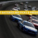 Super Start Batteries 400 Predictions, Picks, Odds, and Betting Preview | July 23 2020