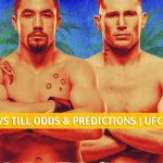 Robert Whittaker vs Darren Till Predictions, Picks, Odds and Betting Preview | UFC Fight Night - July 25 2020
