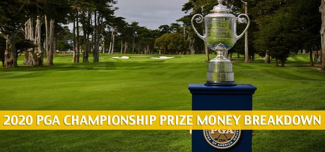 2020 PGA Championship Purse and Prize Money Breakdown