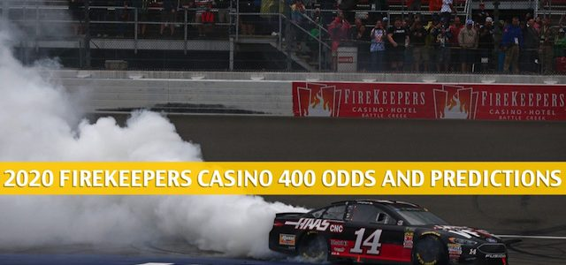 FireKeepers Casino 400 Predictions, Picks, Odds, and Betting Preview | August 8 2020