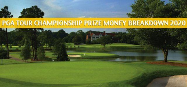 PGA Tour Championship Purse and Prize Money Breakdown 2020