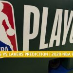 Portland Trail Blazers vs Los Angeles Lakers Predictions, Picks, Odds, Preview | NBA Playoffs Round 1 Game 2 August 20, 2020