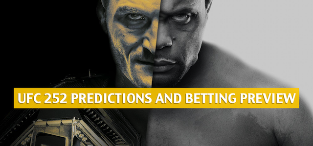UFC 252 Predictions, Picks, Odds, and Betting Preview | August 15 2020