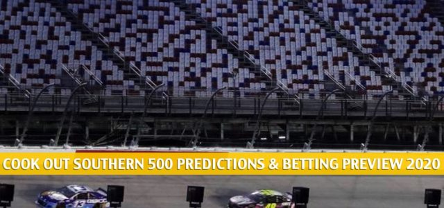 Cook Out Southern 500 Predictions, Picks, Odds, and Betting Preview 2020