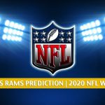 Dallas Cowboys vs Los Angeles Rams Predictions, Picks, Odds, and Betting Preview | NFL Week 1 - September 13, 2020