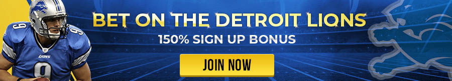 Bet on the Detroit Lions