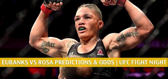 Sijara Eubanks vs Karol Rosa Predictions, Picks, Odds, and Betting Preview | UFC Fight Night September 5 2020