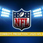 Atlanta Falcons vs Dallas Cowboys Predictions, Picks, Odds, and Betting Preview | NFL Week 2 - September 20, 2020