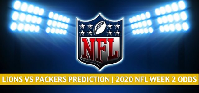 Detroit Lions vs Green Bay Packers Predictions, Picks, Odds, and Betting Preview | NFL Week 2 – September 20, 2020