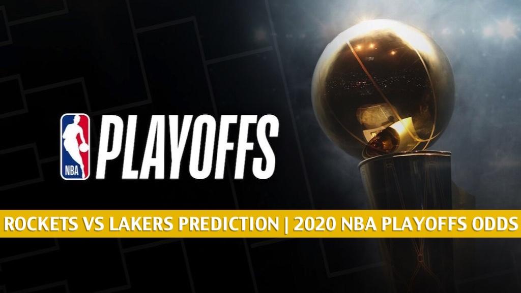 Rockets Vs Lakers Predictions Picks Odds Preview Sept 6 2020