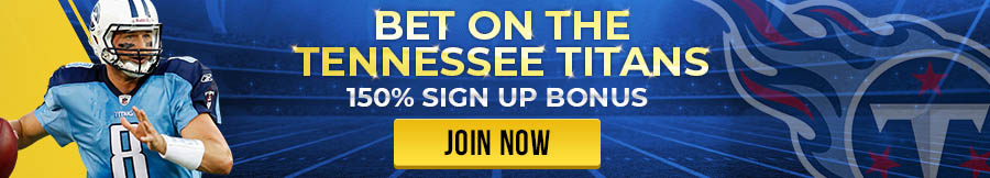 Bet on the Tennessee Titans