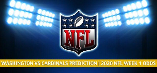 Washington Football Team vs Arizona Cardinals Predictions, Picks, Odds, and Betting Preview | NFL Week 2 – September 20, 2020