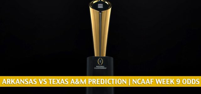 Arkansas Razorbacks vs Texas A&M Aggies Predictions, Picks, Odds, and NCAA Football Betting Preview | October 31 2020