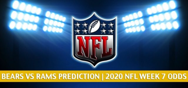 Chicago Bears vs Los Angeles Rams Predictions, Picks, Odds, and Betting Preview | NFL Week 7 – October 26, 2020