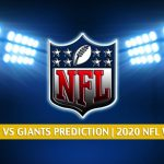 Tampa Bay Buccaneers vs New York Giants Predictions, Picks, Odds, and Betting Preview | NFL Week 8 - November 2, 2020