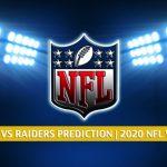 Tampa Bay Buccaneers vs Las Vegas Raiders Predictions, Picks, Odds, and Betting Preview | NFL Week 7 - October 25, 2020