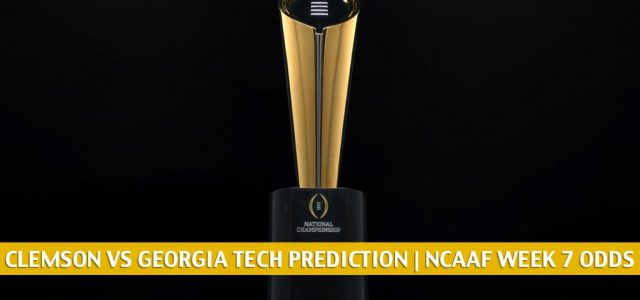 Clemson Tigers vs Georgia Tech Yellow Jackets Predictions, Picks, Odds, and NCAA Football Betting Preview – October 17 2020