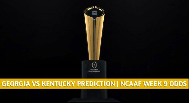 Georgia Bulldogs vs Kentucky Wildcats Predictions, Picks, Odds, and NCAA Football Betting Preview | October 31 2020