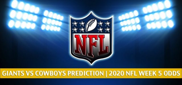 New York Giants vs Dallas Cowboys Predictions, Picks, Odds, and Betting Preview | NFL Week 5 – October 11, 2020