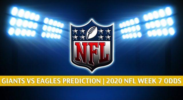 New York Giants vs Philadelphia Eagles Predictions, Picks, Odds, and Betting Preview   NFL Week 7 – October 22, 2020