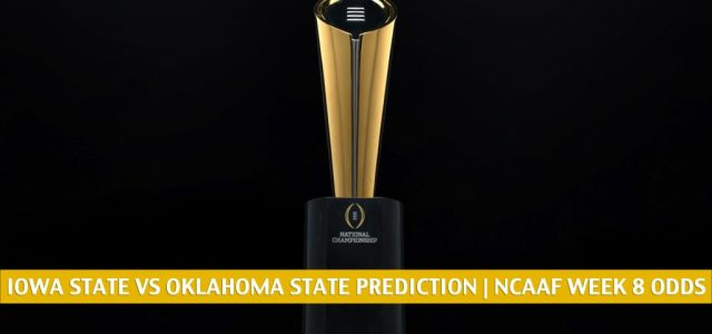 Iowa State Cyclones vs Oklahoma State Cowboys Predictions, Picks, Odds, and NCAA Football Betting Preview | October 24 2020