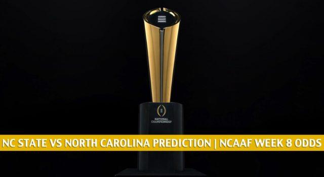 NC State Wolfpack vs North Carolina Tar Heels Predictions, Picks, Odds, and NCAA Football Betting Preview   October 24 2020