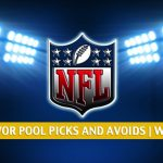 NFL Survivor Pool Picks Week 8 - Tips, Advice, and Who to Avoid