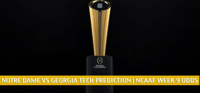 Notre Dame Fighting Irish vs Georgia Tech Yellow Jackets Predictions, Picks, Odds, and NCAA Football Betting Preview | October 31 2020