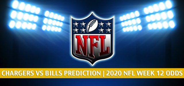 Los Angeles Chargers vs Buffalo Bills Predictions, Picks, Odds, and Betting Preview | NFL Week 12 – November 29, 2020