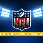Kansas City Chiefs vs Las Vegas Raiders Predictions, Picks, Odds, and Betting Preview | NFL Week 11 - November 22, 2020