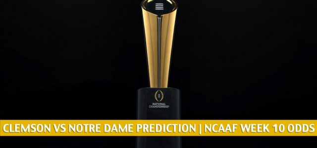 Clemson Tigers vs Notre Dame Fighting Irish Predictions, Picks, Odds, and NCAA Football Betting Preview | November 7 2020