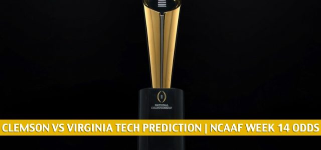 Clemson Tigers vs Virginia Tech Hokies Predictions, Picks, Odds, and NCAA Football Betting Preview | December 5 2020
