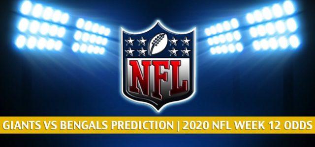 New York Giants vs Cincinnati Bengals Predictions, Picks, Odds, and Betting Preview | NFL Week 12 – November 29, 2020