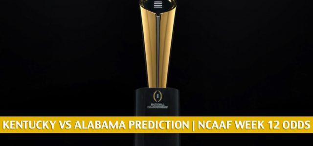 Kentucky Wildcats vs Alabama Crimson Tide Predictions, Picks, Odds, and NCAA Football Betting Preview   November 21 2020