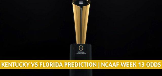 Kentucky Wildcats vs Florida Gators Predictions, Picks, Odds, and NCAA Football Betting Preview | November 28 2020