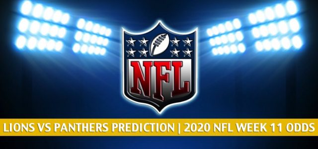 Detroit Lions vs Carolina Panthers Predictions, Picks, Odds, and Betting Preview | NFL Week 11 – November 22, 2020