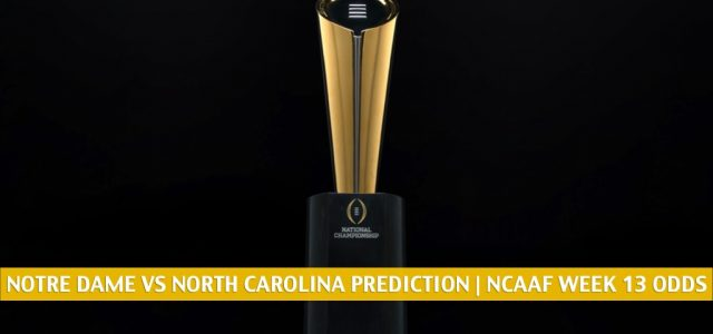 Notre Dame Fighting Irish vs North Carolina Tar Heels Predictions, Picks, Odds, and NCAA Football Betting Preview | November 27 2020
