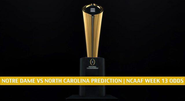 Notre Dame Fighting Irish vs North Carolina Tar Heels Predictions, Picks, Odds, and NCAA Football Betting Preview | November 27 2020